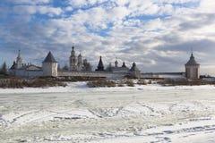 Spaso-Prilutsky Dimitriev diocesan monastery Stock Photos
