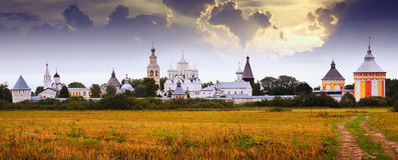 Spaso-Prilutsky Monastery in Vologda, Russia Royalty Free Stock Photo