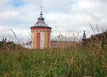 Spaso-Prilutsky monastery in Vologda Royalty Free Stock Photo