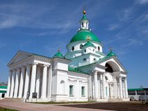 Spaso-yakovlevski Kloster in Rostov. Stockbild