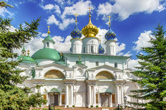 Spaso-Yakovlevsky Dimitriev monastery in Rostov Veliky Russia to Stock Images