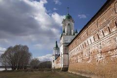 Spaso-Yakovlevsky monaster, Rostov, Rosja Obrazy Stock