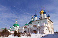 Spaso-Yakovlevsky Monastery Royalty Free Stock Photos