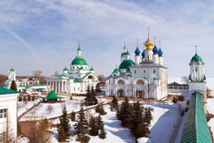 Spaso-Yakovlevsky Monastery Royalty Free Stock Images