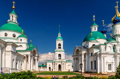 Spaso-Yakovlevsky Monastery in ancient town of Rostov the Great, Royalty Free Stock Images