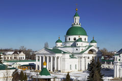 Spaso-Yakovlevsky monastery in Rostov the Great, the Cathedral of St. Dmitry Rostovsky, Russia Stock Photo
