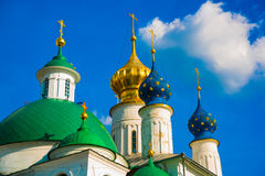 Spaso-Yakovlevsky monastery in Rostov the Great, Russia. Royalty Free Stock Photos