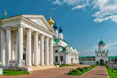 Spaso-Yakovlevsky Monastery in Rostov the Great, Russia Stock Photo