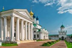 Spaso-Yakovlevsky Monastery in Rostov the Great, Russia Stock Photo