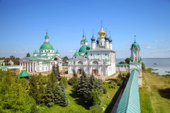 Spaso-Yakovlevsky monastery summer day in Rostov the Great Stock Photos