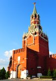 Spasskaja Tower. Of Moscow Kremlin. View From Stock Images