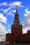 Spasskaya clock tower in the Kremlin Red Square Moscow Royalty Free Stock Photo