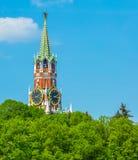 spasskaya kreml Moscow tower Fotografia Royalty Free