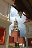 Spasskaya ręcznik Kremlowski Moskwa 2007 zdjęcia royalty free