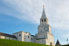 Spasskaya Savior`s Tower, Kazan Royalty Free Stock Image