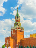 Spasskaya (Saviour) Tower of the Moscow Kremlin Stock Photo