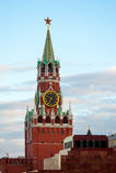 Spasskaya Tower. Of Moscow Kremlin Royalty Free Stock Photography