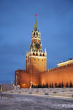 Spasskaya tower of Kremlin Royalty Free Stock Photo