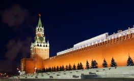 Spasskaya tower of Kremlin Stock Photography