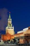 Spasskaya tower of Kremlin Royalty Free Stock Photography
