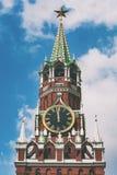 Spasskaya tower Royalty Free Stock Image