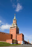 Spasskaya  Tower, Kremlin, Moscow Royalty Free Stock Photo