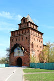 Spasskaya tower of the Kremlin. In Moscow oblast, Russia Royalty Free Stock Image