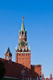 Spasskaya Tower, Moscow Royalty Free Stock Photo