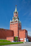 Spasskaya Tower in Moscow Royalty Free Stock Image