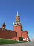 Spasskaya Tower. Moscow Stock Images