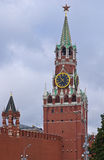 Spasskaya Tower In Moscow Kremlin Royalty Free Stock Images