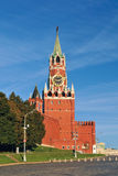 Spasskaya tower of Moscow Kremlin. Red Square Royalty Free Stock Photography