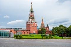 Spasskaya tower. Of the Moscow Kremlin Stock Photography