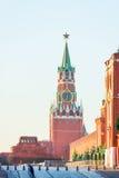 Spasskaya Tower of Moscow Kremlin Royalty Free Stock Image