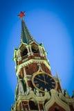Spasskaya Tower of the Moscow Kremlin Royalty Free Stock Image