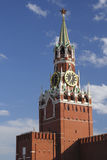 Spasskaya tower of Moscow Kremlin Royalty Free Stock Image
