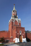 Spasskaya tower of the Moscow Kremlin. Russia Stock Photo
