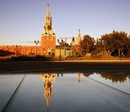 Spasskaya tower of Moscow Kremlin. UNESCO World Heritage Site. stock photography