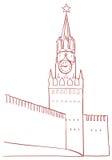 Spasskaya Tower Royalty Free Stock Images