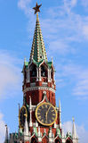 Spasskaya Tower in Moscow, Russia Royalty Free Stock Image