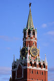 Spasskaya Tower Royalty Free Stock Photography