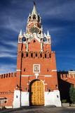 Spasskaya tower on Red Square, Moscow, Russia Stock Photo