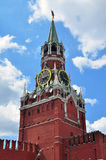 Spasskaya tower on the Red Square Royalty Free Stock Photography