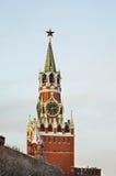 Spasskaya and Tsarskaya towers of the Moscow Kremlin. Russia Royalty Free Stock Photos