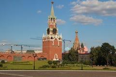 Spasskaya wierza, Moskwa zdjęcia stock