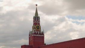 Spasskaya wierza Moskwa Kremlin zbiory wideo