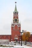 Spasskaya wierza Moskwa Kremlin, Rosja Zdjęcie Royalty Free