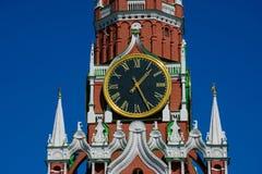 Spasskaya wierza wybawiciela wierza zdjęcia royalty free