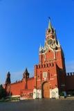 Spasskayatoren van Moskou het Kremlin Stock Foto's