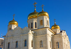 Spasski Cathedral in Pyatigorsk. Royalty Free Stock Photos